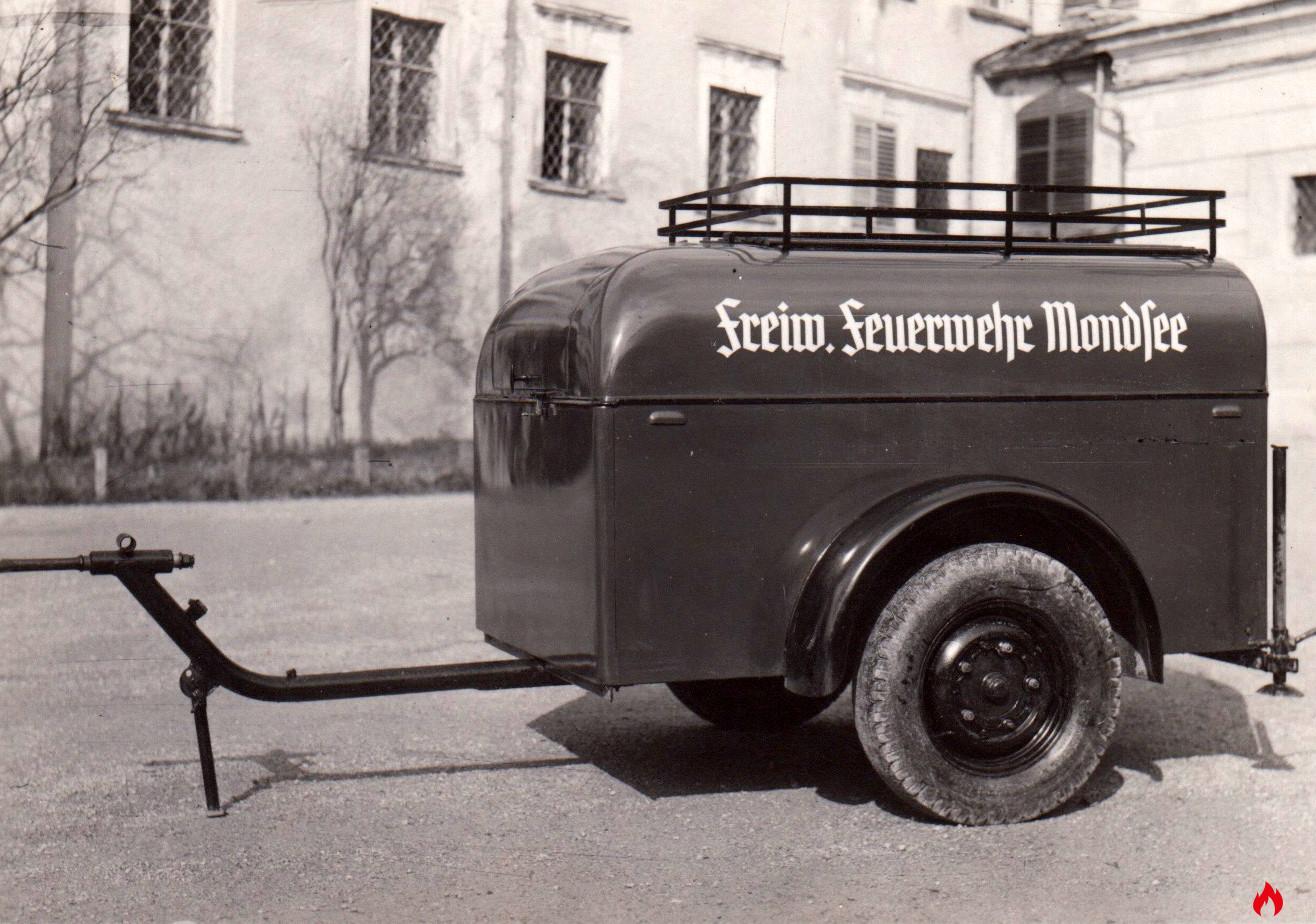 1941 TS Anhänger Feuerwehr Mondsee