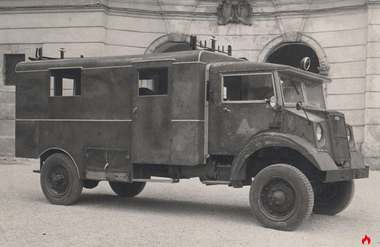 1943 Rüstlöschwagen Chevrolet Feuerwehr Mondsee
