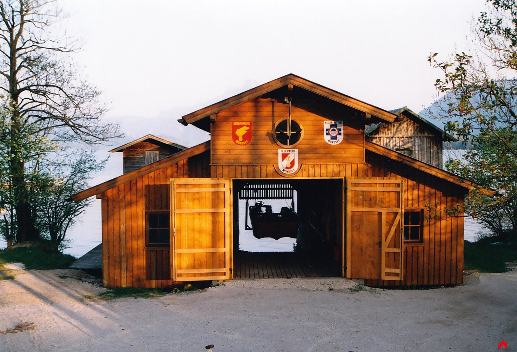 1993 Boothaus Feuerwehr Mondsee 1
