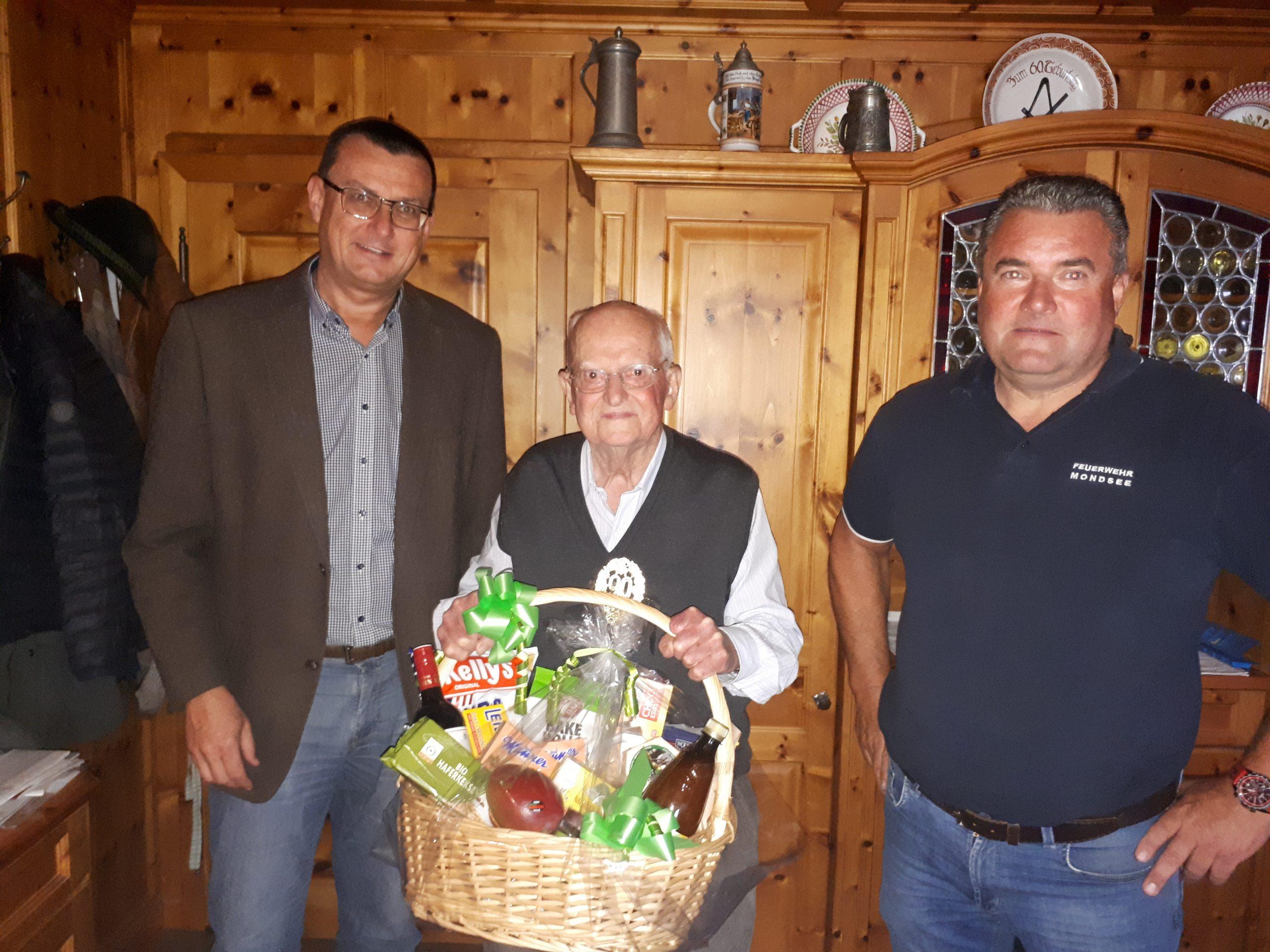 90. Geburtstag von Sepp Wienerroither
